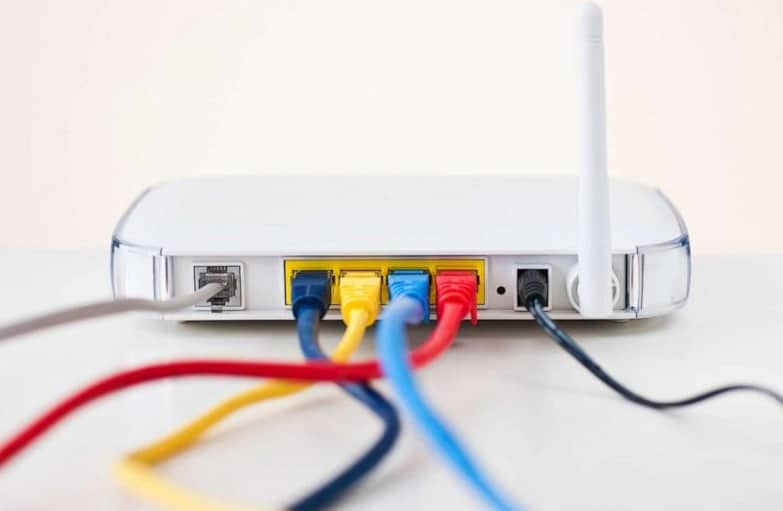 linking the additional routers to the main router
